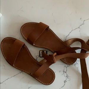 Madewell Sandals Size 5.